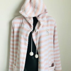 Knee length Victoria's Secret hoodie robe